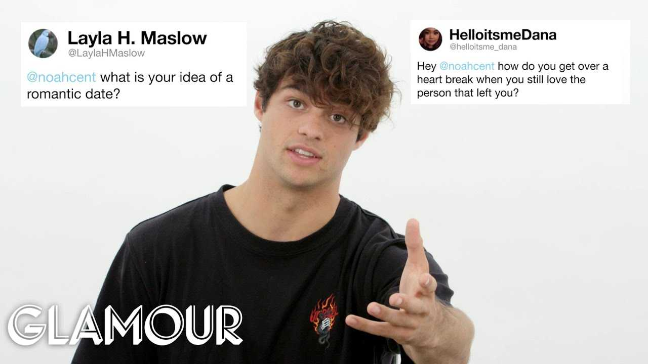 Noah Centineo Gives Advice to Strangers on the Internet   Glamour