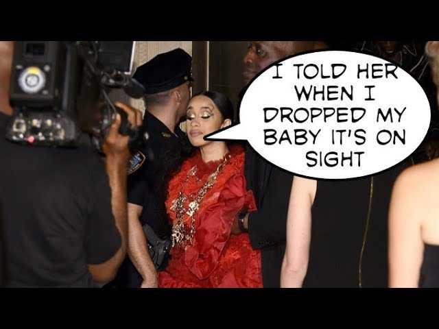 Rapper cardi B fights Rapper Nicki Minaj at party