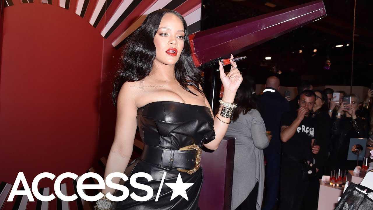 Rihanna Celebrates Fenty Beauty's First Birthday