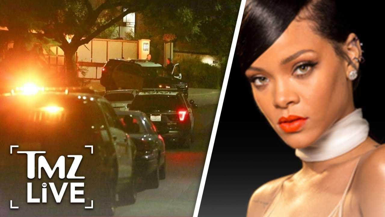Rihanna's Home Broken Into AGAIN | TMZ Live