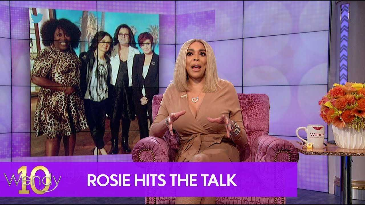 Rosie O'Donnell Joining The Talk?