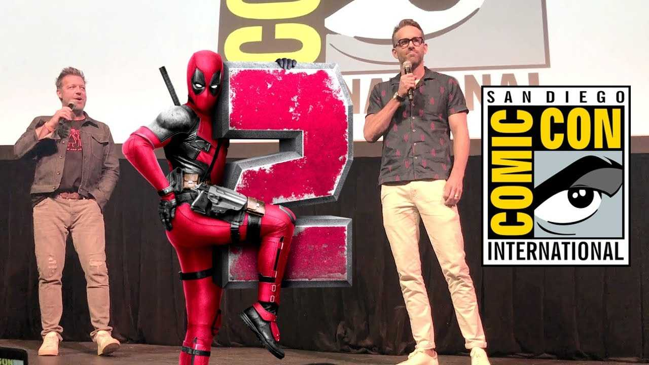 Ryan Reynolds Introduces the DEADPOOL 2 Super Duper Cut (SDCC 2018)