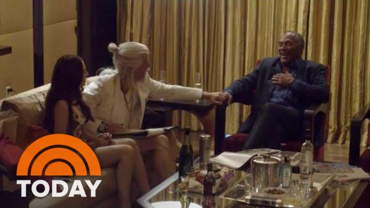 Sacha Baron Cohen Talks With OJ Simpson In Cringeworthy Interview | TODAY