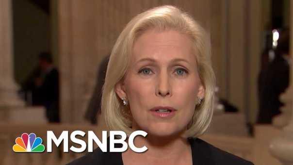 "Senator Kirsten Gillibrand Was ""Disturbed"" By GOP Senators | All In | MSNBC"