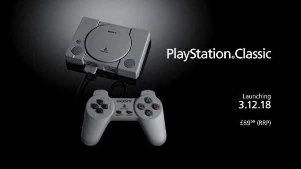 Sony announces new PlayStation Classic console – 80% SMALLER!
