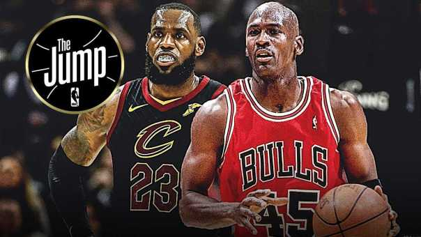 T-Mac Thinks 3 Rings Are Enough For LeBron To Compete With Jordan | The Jump