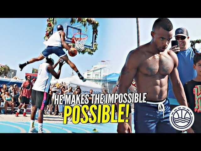 The HIGHEST JUMPING 36 YEAR OLD IN THE WORLD!! INSANE HOPS at VBL Dunk Contest!