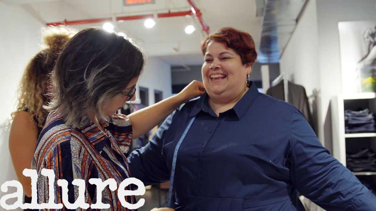 The Secret Life of a Plus-Size Fit Model | Allure