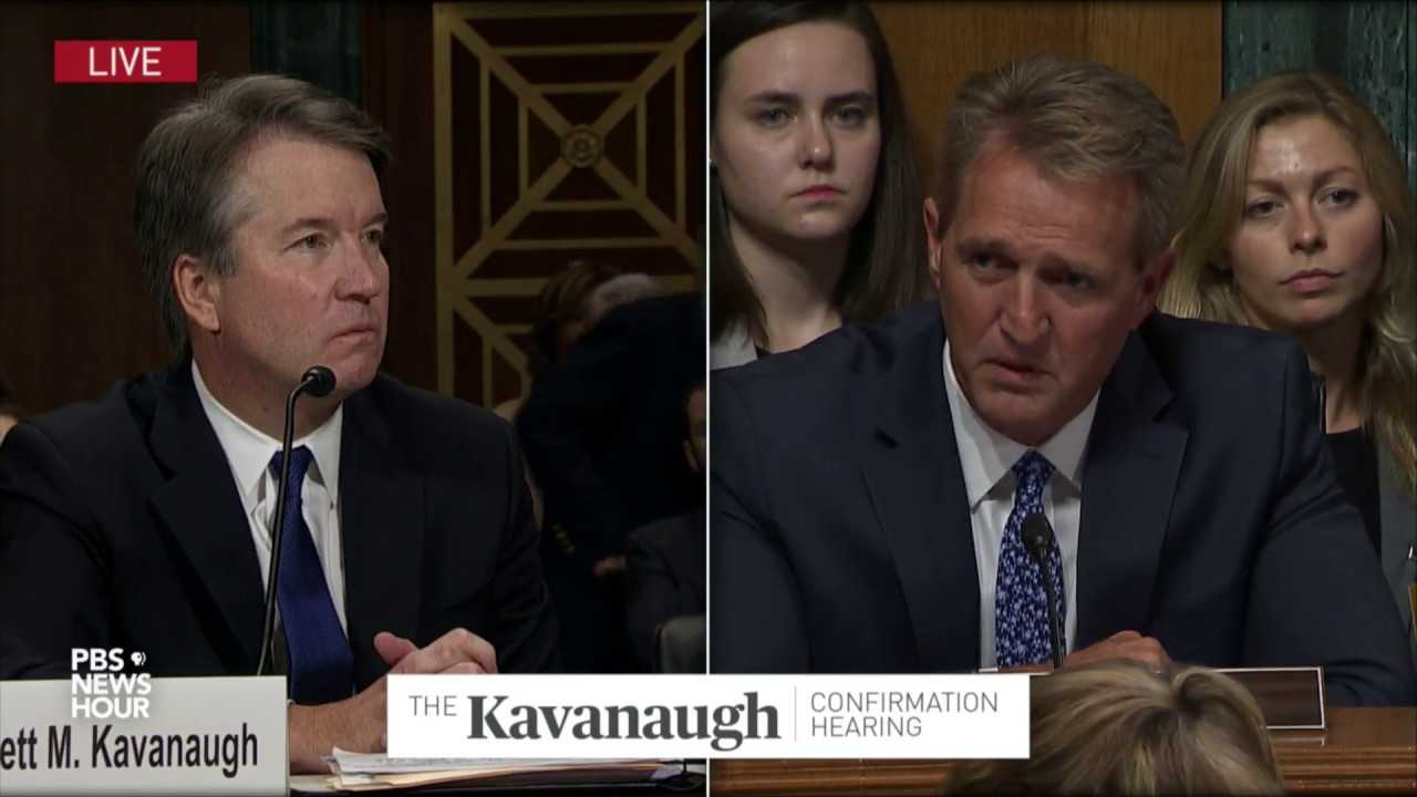 'There is doubt. We'll never move beyond that,' Flake says after Ford-Kavanaugh hearing