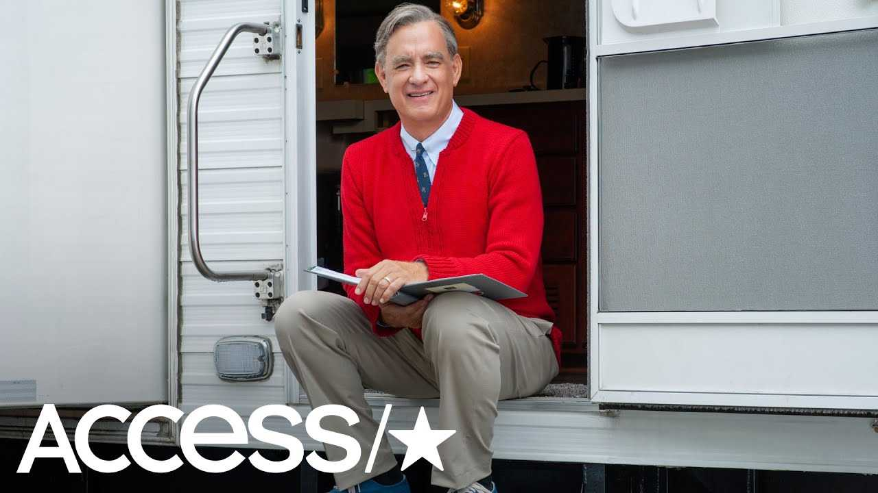 This Sneak Peek At Tom Hanks As Mister Rogers Is Everything   Access