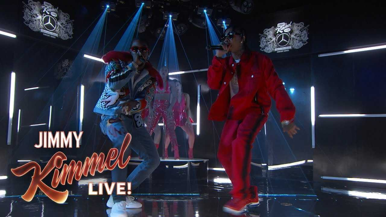 "Tyga & Offset Perform ""Taste"" Live on Kimmel [Live Performance]"