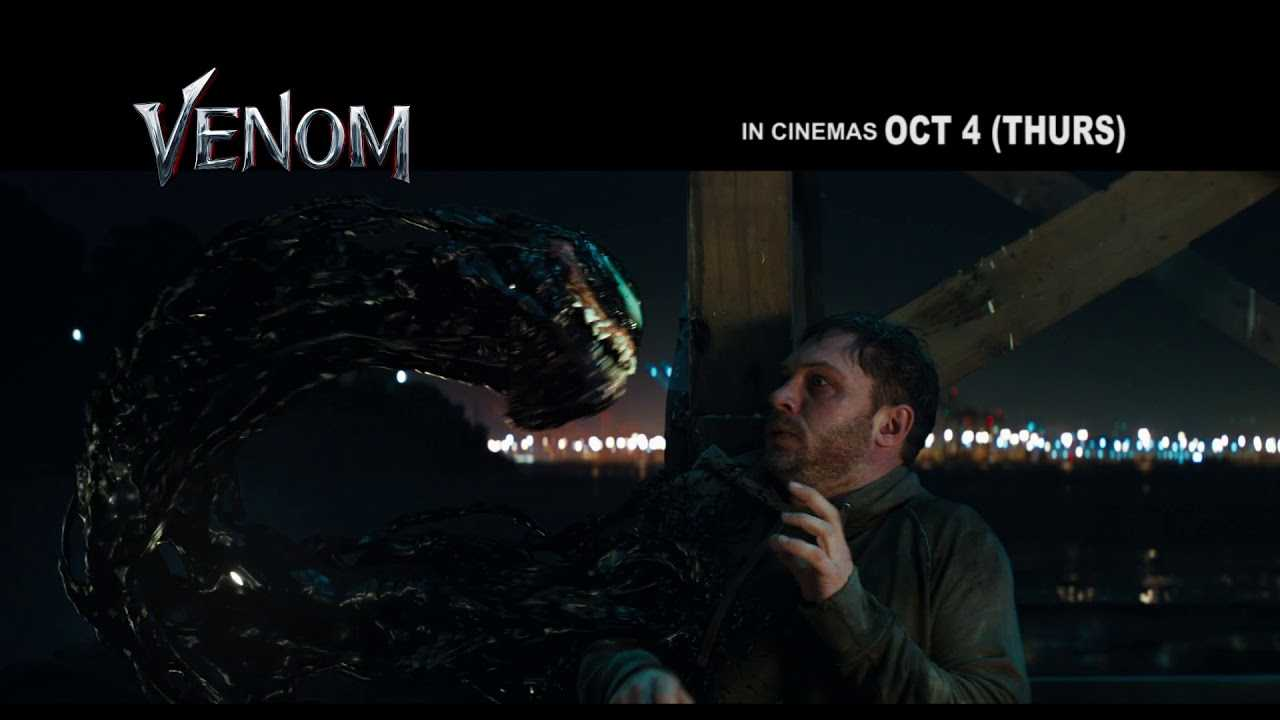 VENOM in cinemas October 4