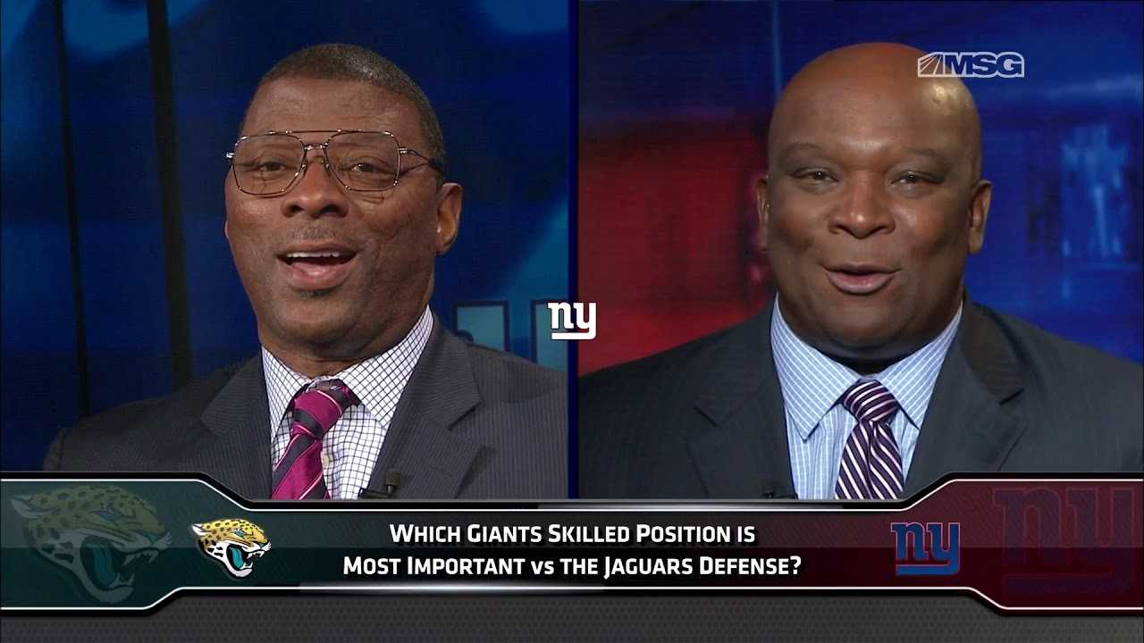 Which Skilled Position Will Be Most Important vs. Jaguars? | New York Giants | MSG Networks