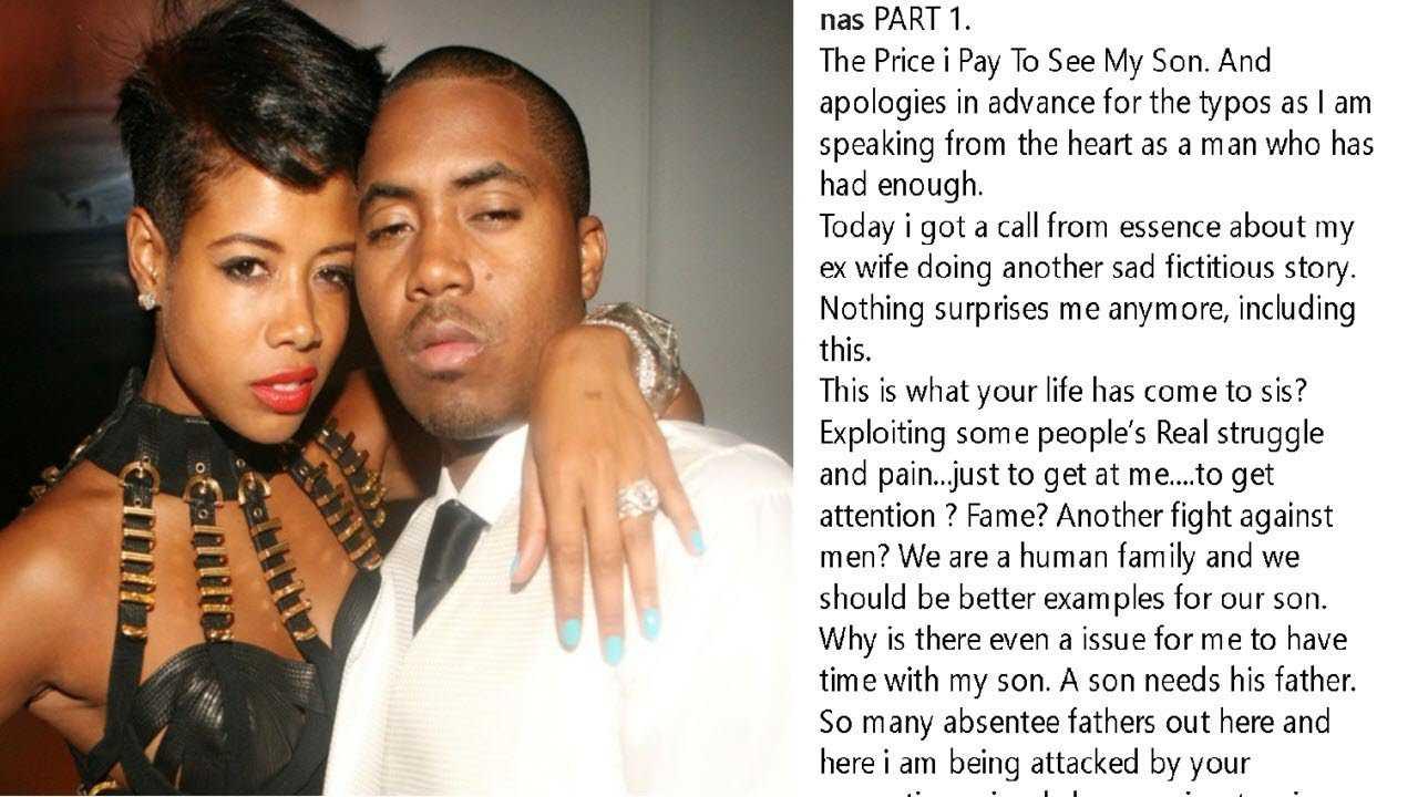 Nas Writes Open Letter To Ex-Wife Kelis Over Son