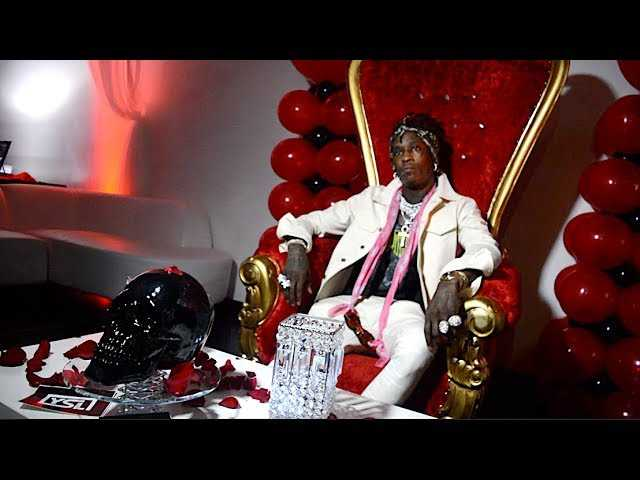 Young Thug  26th Birthday Party in Atlanta Tip & Lil Baby 2017