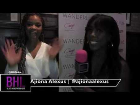 "Ajiona Alexus at Wanderluxxe | talks Emmy nominations & says ""Diversity is EQUALITY"""
