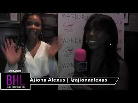 "Ajiona Alexus at Wanderluxxe   talks Emmy nominations & says ""Diversity is EQUALITY"""