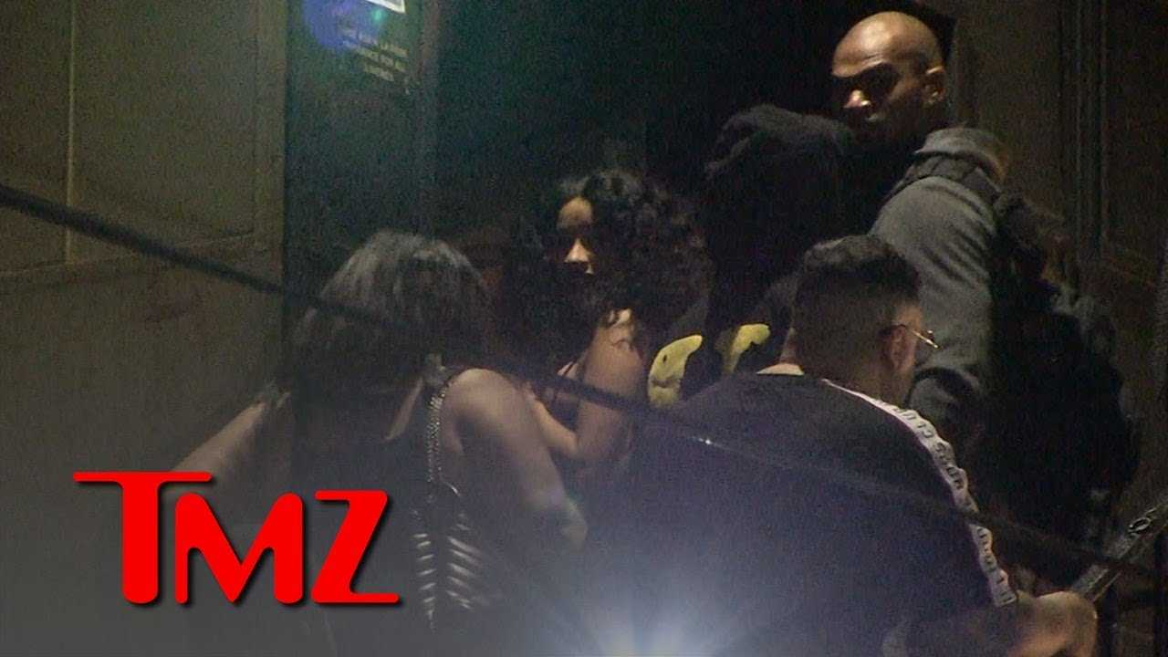 Cardi B and Offset Roll Deep with Bodyguards After American Music Awards   TMZ