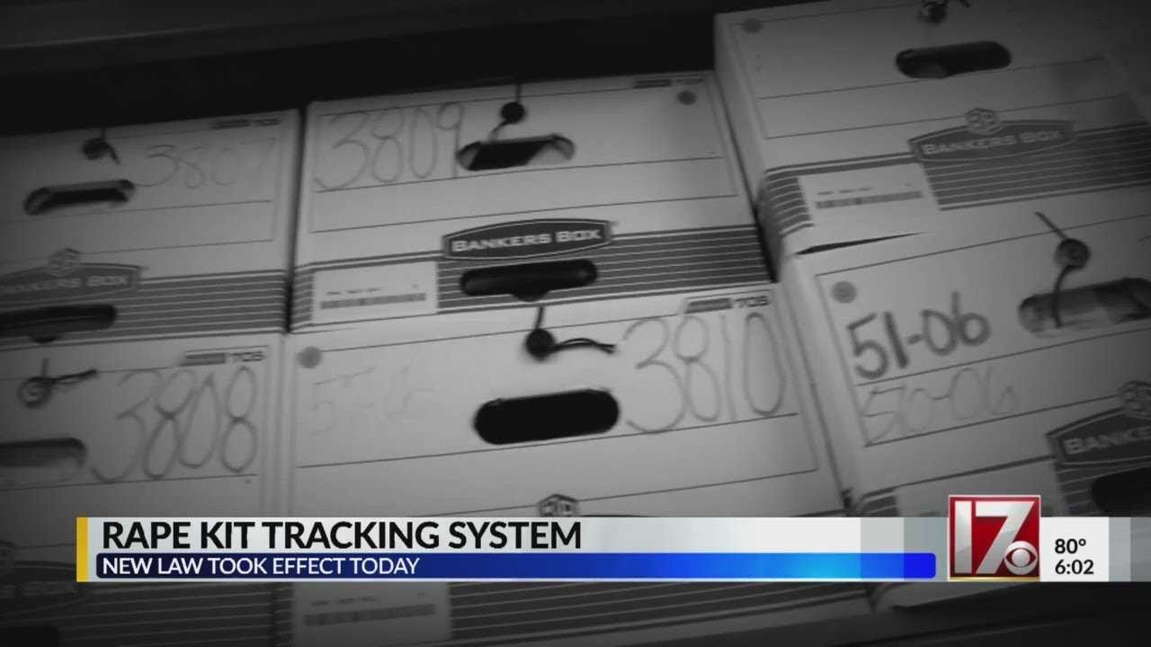 Changes coming to rape kit tracking