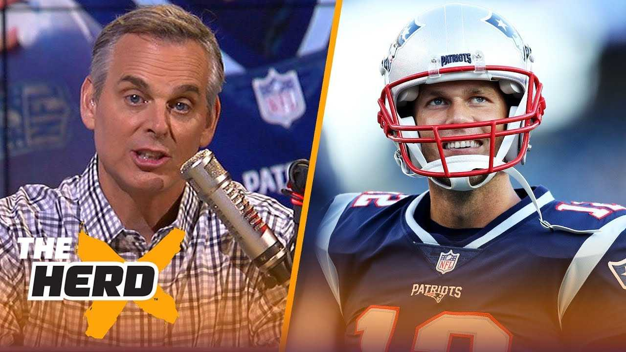 Colin Cowherd explains why Tom Brady's quest to 500 TDs is unique | NFL | THE HERD