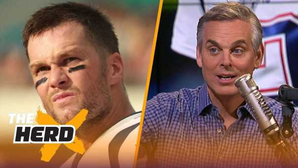 Colin on Rams win over Vikings, Brady 'bitter' over lack of support | NFL | THE HERD