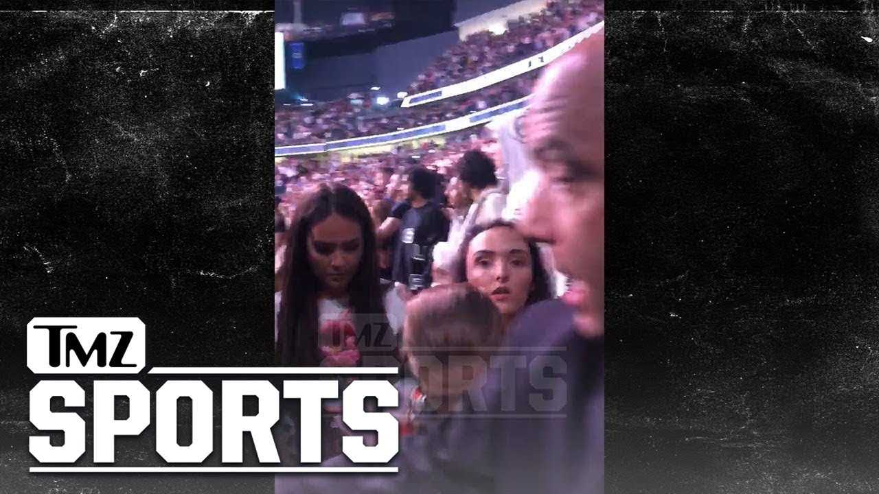 Conor McGregor's Family Escorted Out Of The Arena By Security | TMZ Sports