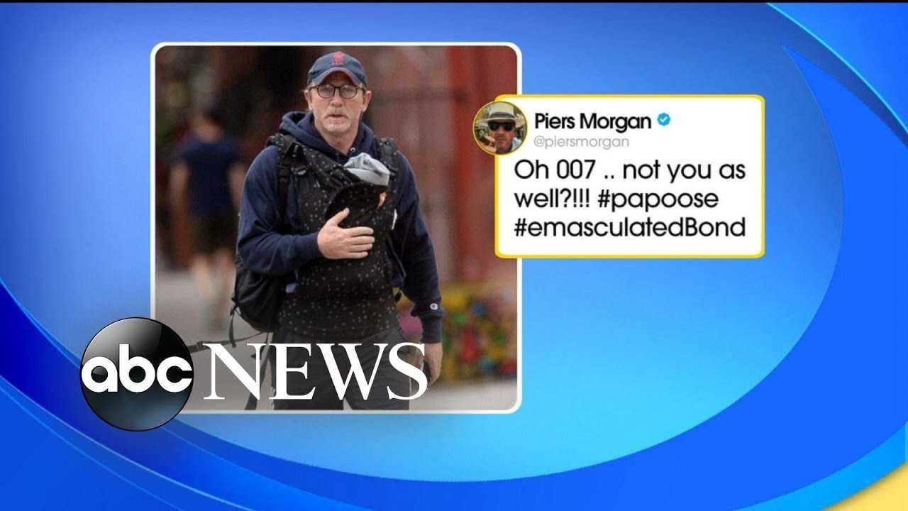 Dad-shaming throwdown has Chris Evans rushing to James Bond's rescue