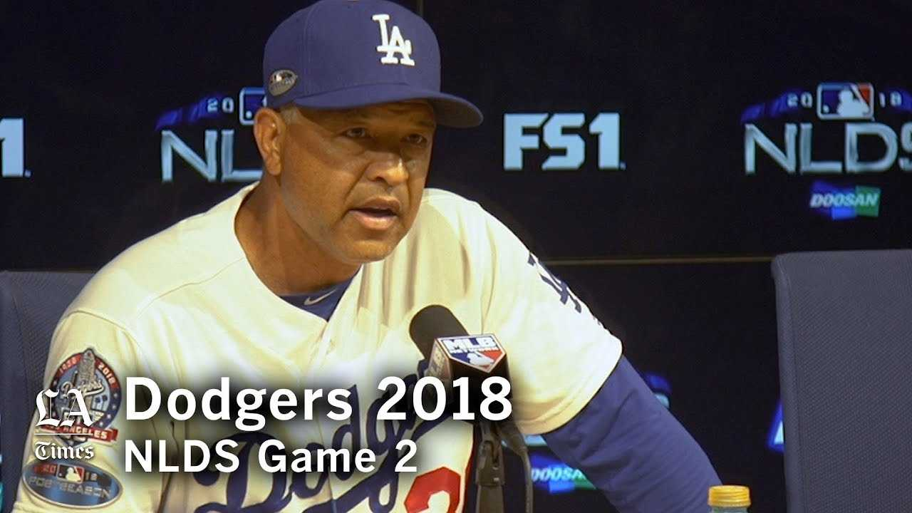 Dodgers NLDS 2018: Dave Roberts on Clayton Kershaw's NLDS Game 2 performance