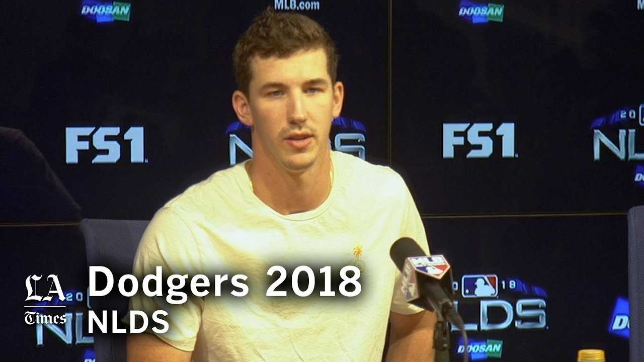 Dodgers NLDS 2018: Walker Buehler on how he approaches pitching in the playoffs
