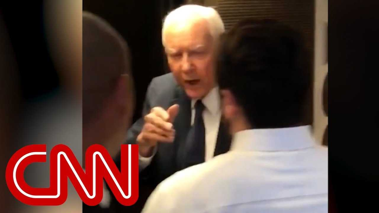 Hatch snaps at female protesters: Grow up