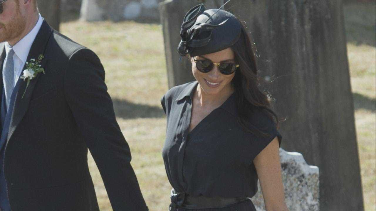 How Meghan Markle Hid Her Pregnancy With Fashion -- See the Looks!