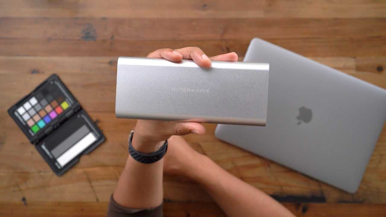 HyperJuice - The world's most powerful USB-C battery pack! [Sponsored]