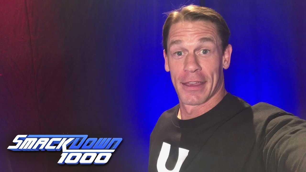 John Cena congratulates SmackDown on 1000 episodes: SmackDown 1000, Oct. 16, 2018