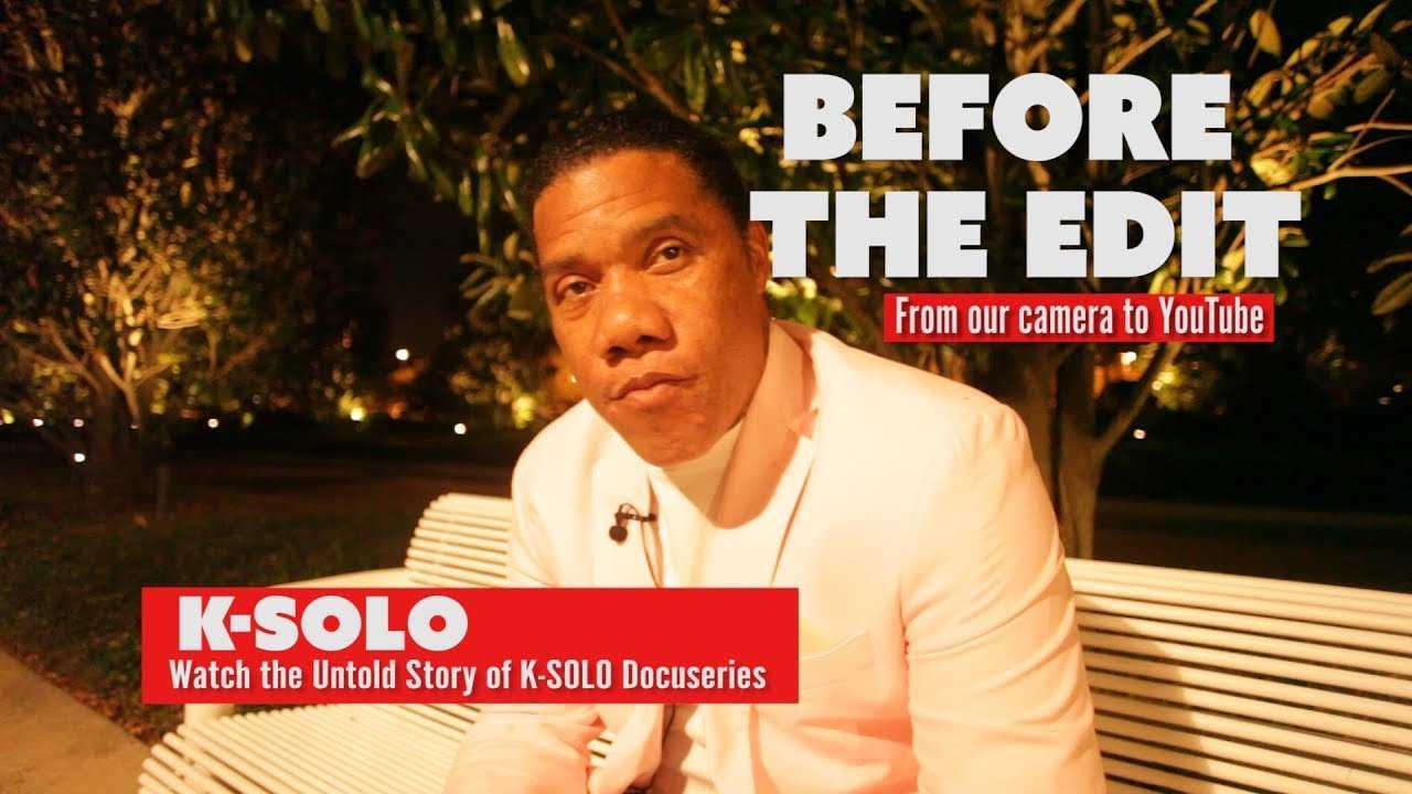 K-Solo |Before the Edit: Talks Suge Knight,Dr.Dre,Epmd & Rap History Uncut & Raw!