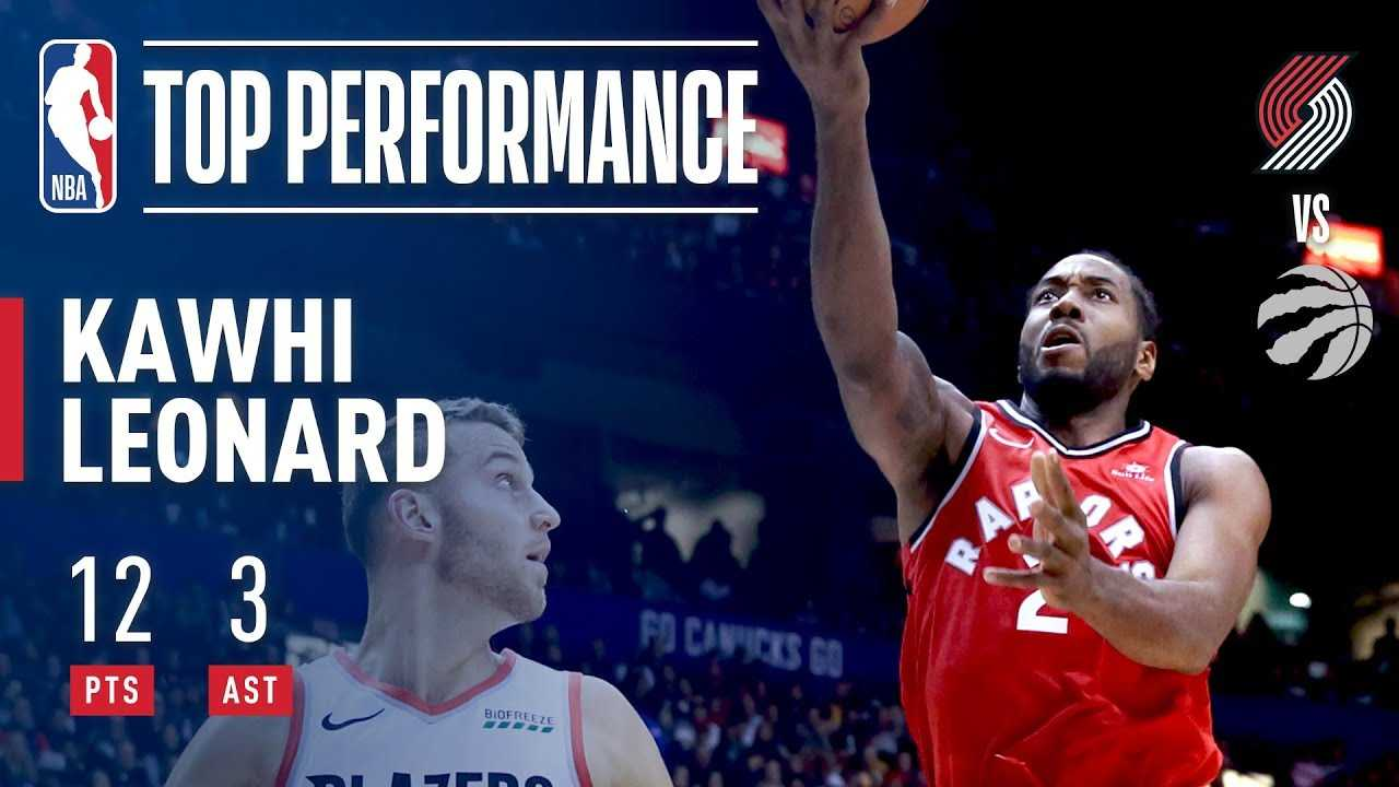 Kawhi Leonard Makes His Preseason Debut With Toronto Raptors!