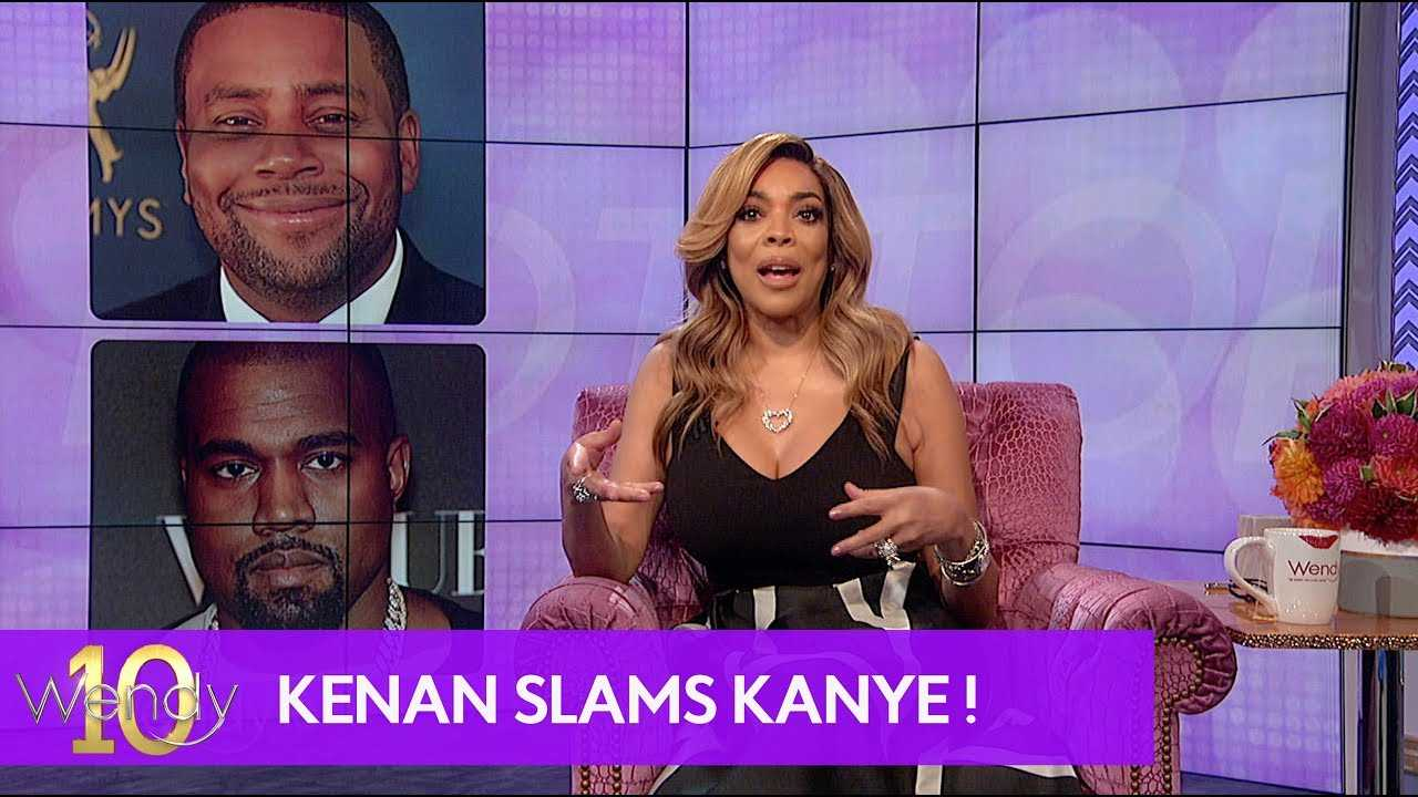 Kenan Calls Out Kanye