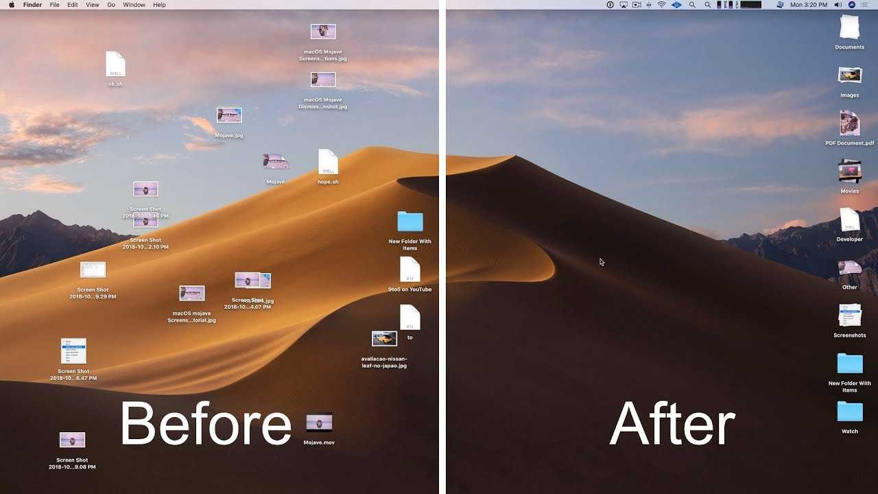 macOS Mojave: How to master Stacks