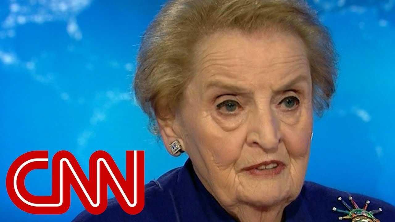 Madeleine Albright: Trump almost a gift to Putin