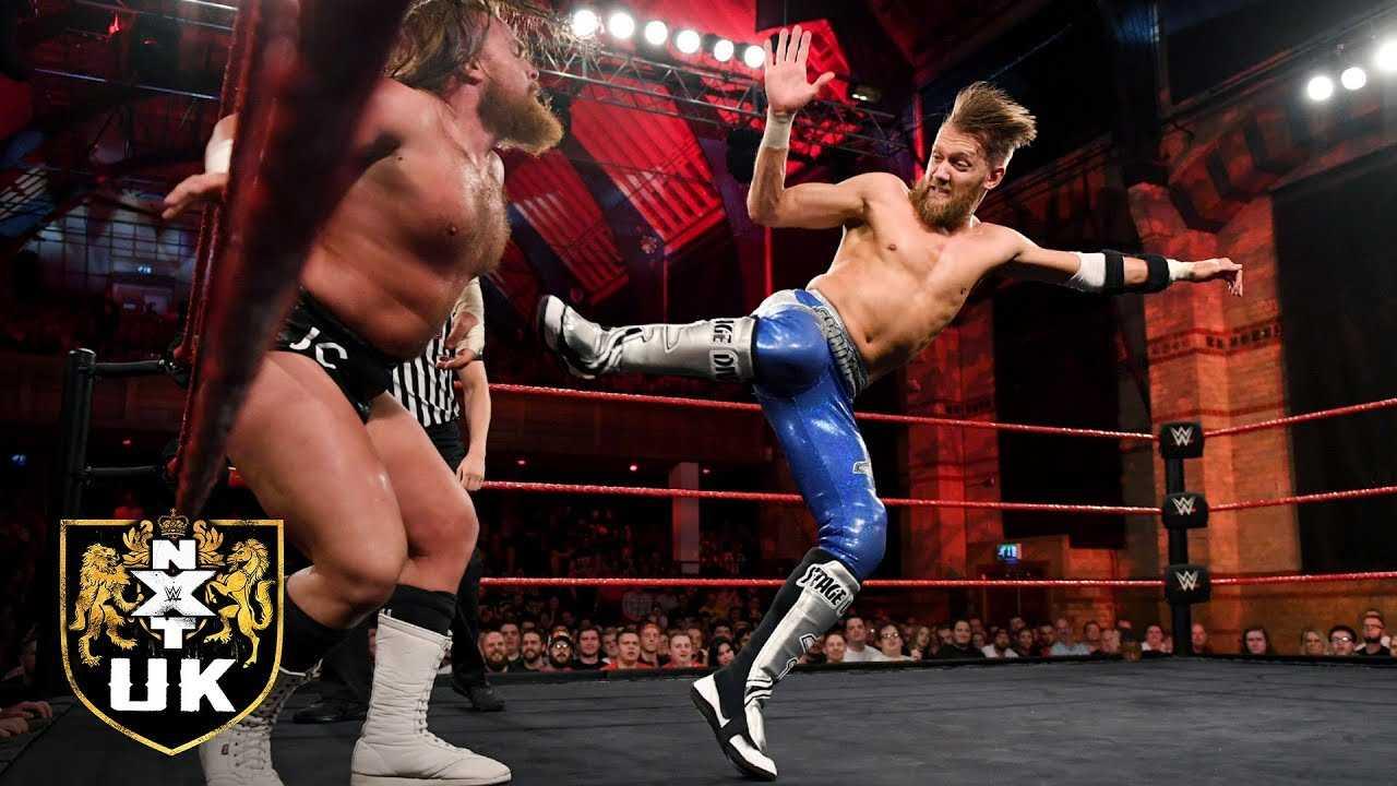 Mark Andrews vs. Joe Coffey: WWE NXT UK, Oct. 17, 2018