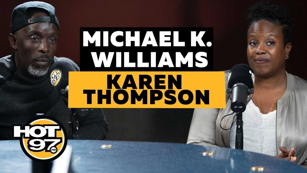Michael K. Williams & Karen Thompson On Getting Innocent People Out Of Prison, & Innocence Project