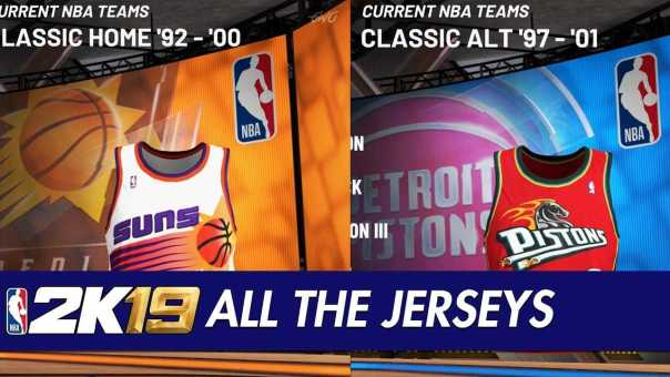 edcd631f9d9 NBA 2K19 - All Team Jerseys Uniforms In The Game - Getmybuzzup