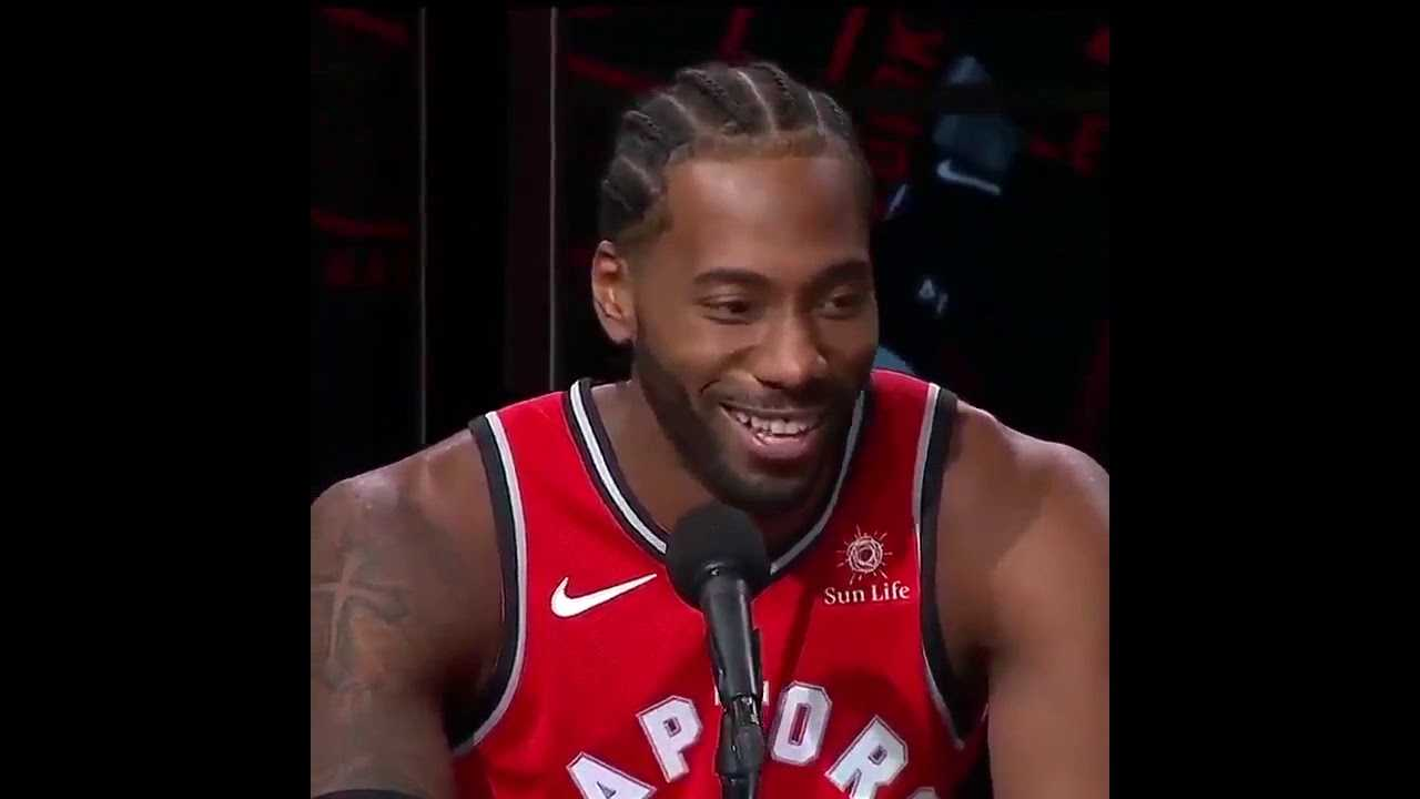 NBA Opening Song ft Kawhi Leonard Laugh