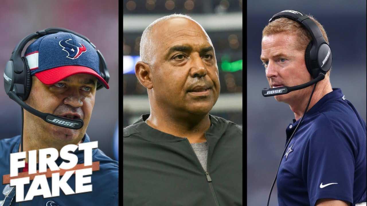 NFL coaches on the hot seat: Jason Garrett, Bill O'Brien, Marvin Lewis | First Take