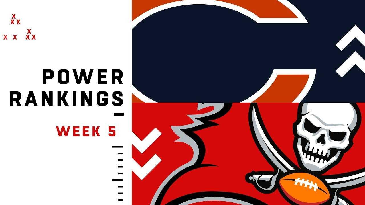 NFL Week 5 Power Rankings!