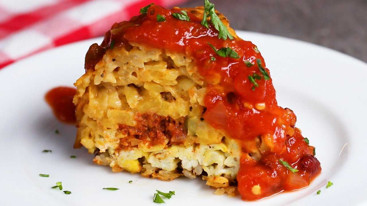 Queso Hash Brown Breakfast Ring