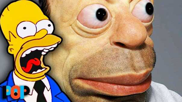 Real Life Homer Is TERRIFYING
