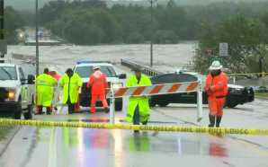 Rescues underway in central Texas amid catastrophic flooding