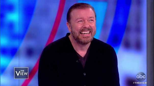 Ricky Gervais Talks 'Child Support' and more | The View