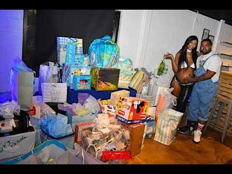 Scrappy & Bambi's Aaliyah Themed 90's  Baby Shower & Interview