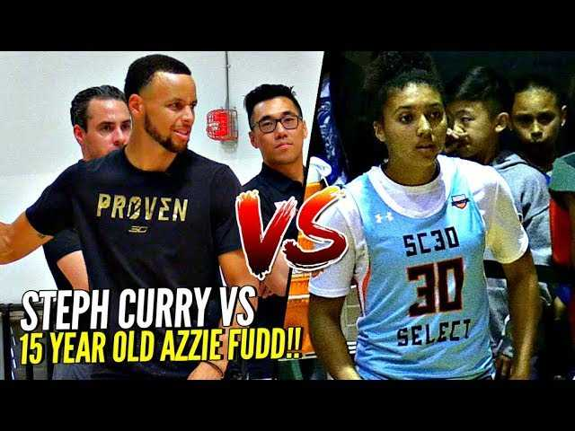 Steph Curry vs HIS DAD vs 15 Year Old Azzie Fudd 3 POINT CONTEST!! WHO YOU GOT!?